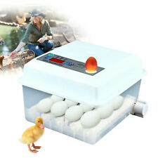 16 Eggs Digital Incubator Farm Chicken Goose Duck Hatcher Auto Turning Usa