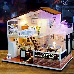 Bricolaje Artesanía Miniatura Madera Casa de Muñecas Proyectos mi Pequeña En
