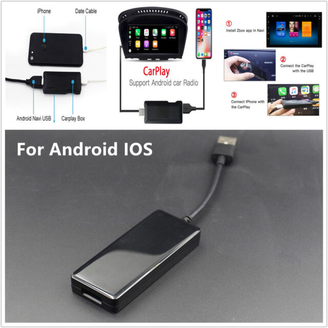 Apple Ios Carplay Usb Dongle Cable For Android Car Auto Navigation