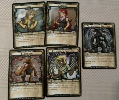 CCG 2 Player Starter Set Lost Legacy Modular Card Game 200 Cards!