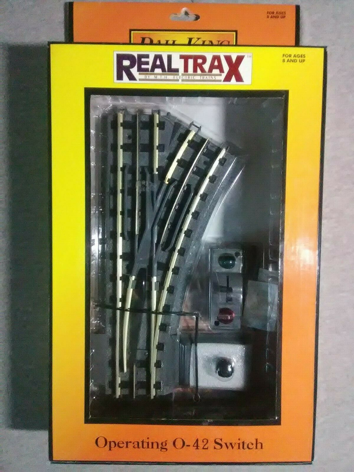 MTH Realtrax Operating O42 Right He Switch  401043  TS