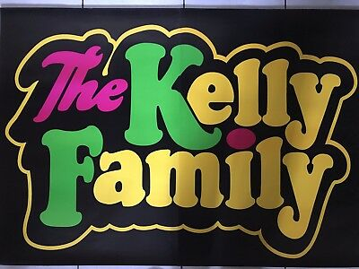 The Kelly Family 1991 Promo Tour Plakat Konzert Poster Ebay