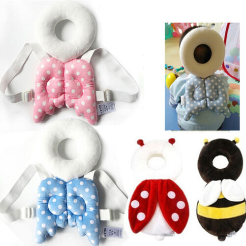 Baby Kids Head Protection Pillow Pad Toddler Head Back Care Cute Resistance/_HC