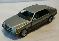 Mercedes W140 600SEL V12 500SEL V8 420SEL S-Klasse Silber Schabak  1:43