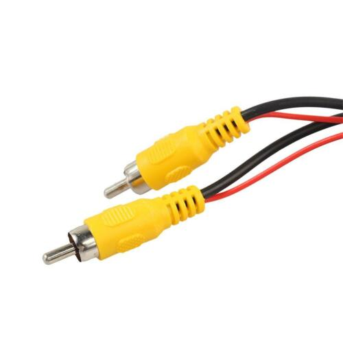20FT Auto RCA AV Rückfahrkamera Video Kabel Mit Rotem Auslöser