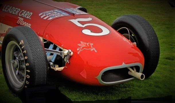 Coche De Carrera Grand Prix Vintage de Ferrari F 1 Fórmula Indy 24 enano 18 Sprint 12