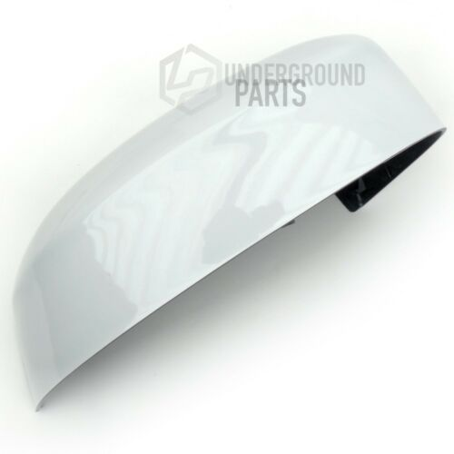FORD FOCUS RIGHT DRIVERS SIDE OS FROZEN WHITE PAINTED DOOR WING MIRROR COVER CAP