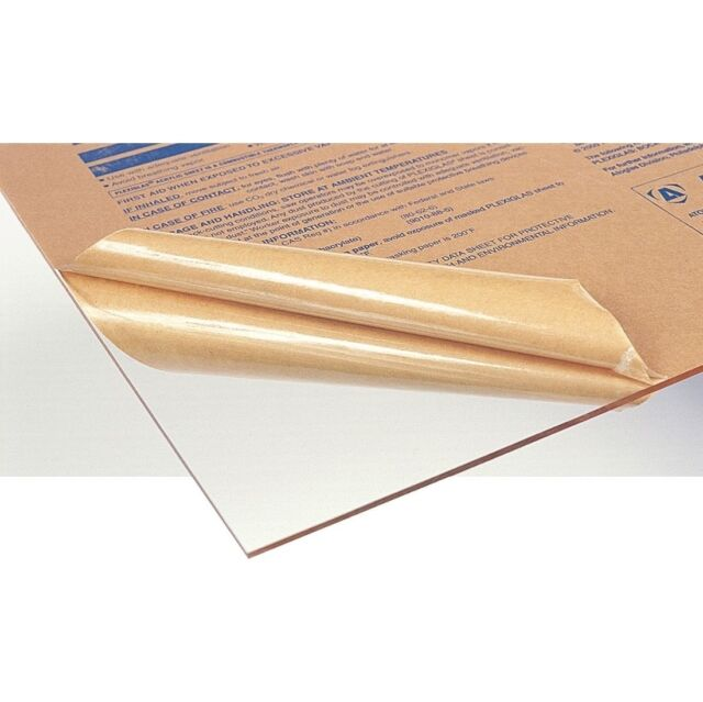 Acrylic Clear 900 x 600 x 2mm Sheet CAST Perspex Optical Framing UV Protection