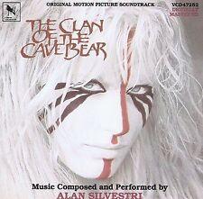 THE CLAN OF THE CAVE BEAR soundtrack cd ALAN SILVESTRI (film score) 1ST PRESS.