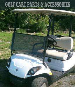 Details about Yamaha G29 DRIVE 2 Tinted Windshield Folding (2017-UP) *NEW  ITEM* Golf Cart Part