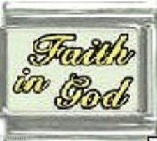 FAITH IN GOD  WHOLESALE ITALIAN CHARM 9MM