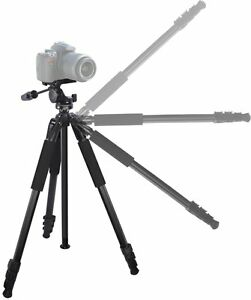 "True Professional 80"" Heavy Duty Tripod W/Case For JVC GZ-EX555 GZ-EX515 GZ-E505"