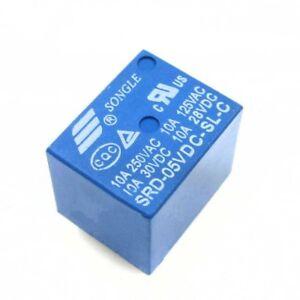 2-5-10-Pcs-Mini-Power-Relay-5V-DC-SRD-5VDC-SL-C-SRD-5VDC-SL-C-PCB-C3D4
