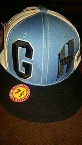 053723942d0 Negro League Grays Baseball Josh Gibson MLB Cap Hat New NOS Tag Sz 7 ...