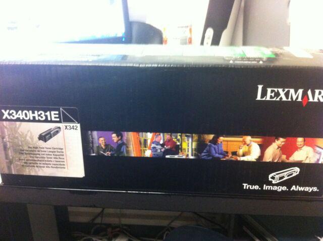 Original Lexmark  Toner  X340H31E X340H11E für X342 neu wie X340h11G neu B