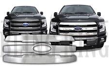 2015-2017 Ford F150 chrome grille grill insert overlay trim Lariat/KingRanch/FX4
