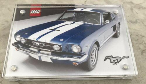 LEGO Creator Mustang 10265-Affichage Acrylique Plaque-Double face