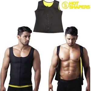 CANOTTA-CANOTTIERA-SNELLENTE-UOMO-DONNA-HOT-SHAPERS-FASCIA-TRAINING-DIMAGRANTE