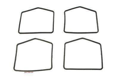 Shaped O-Ring Float Bowl Gaskets - 4 Pack - Honda XL250 CB350K CL350 CB500 CB550
