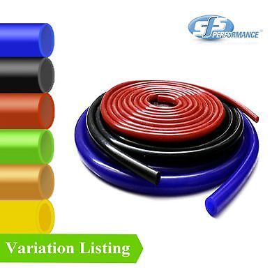 8mm 1 Metre Black Silicone Vacuum Hose//Turbo Rubber Tube Air Water Pipe