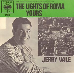 JERRY-VALE-The-Lights-Of-Roma-Yours-1964-VINYL-SINGLE-7-034-DUTCH-PS