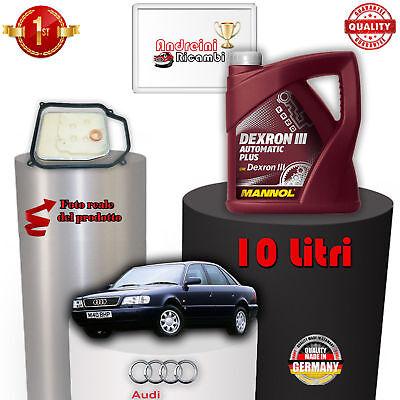 Abile Kit Filtro Cambio Automatico E Olio Audi A6 1.9 Tdi 66kw 90cv 1996 -> 1997 1003 Buono Per L'Energia E La Milza