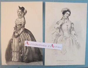 2-gravures-Madeleine-BROHAN-Actrice-Contes-de-la-Reine-de-Navarre