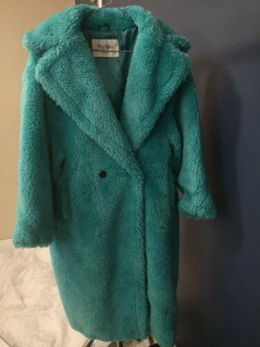 MAX MARA Teddy Bear Icon Coat RUNWAY SMALL