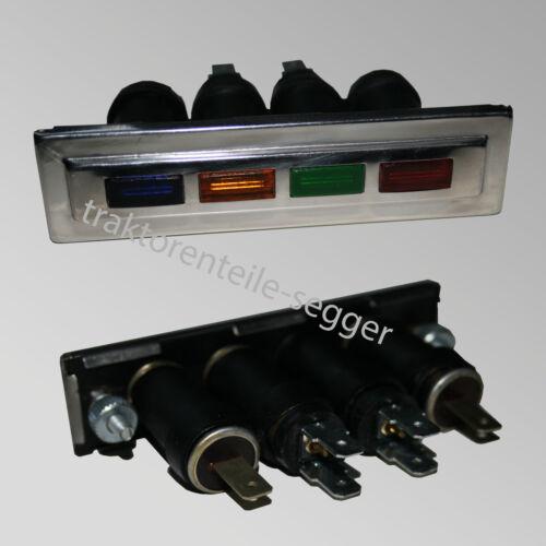 Kontrollleuchtenleiste pilotos barra de luz IHC d322 d439 d432 d326