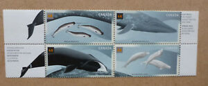 2000-CANADA-WHALES-BLOCK-OF-4-MINT-STAMPS-MNH