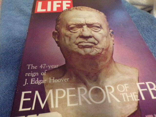 Life Magazine: April 9, 1971 Issue, J.Edgar Hoover, Emperor of the FBI Edition