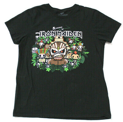 Iron Maiden TokiDoki Book Of Souls Black T Shirt New Official Band Merch