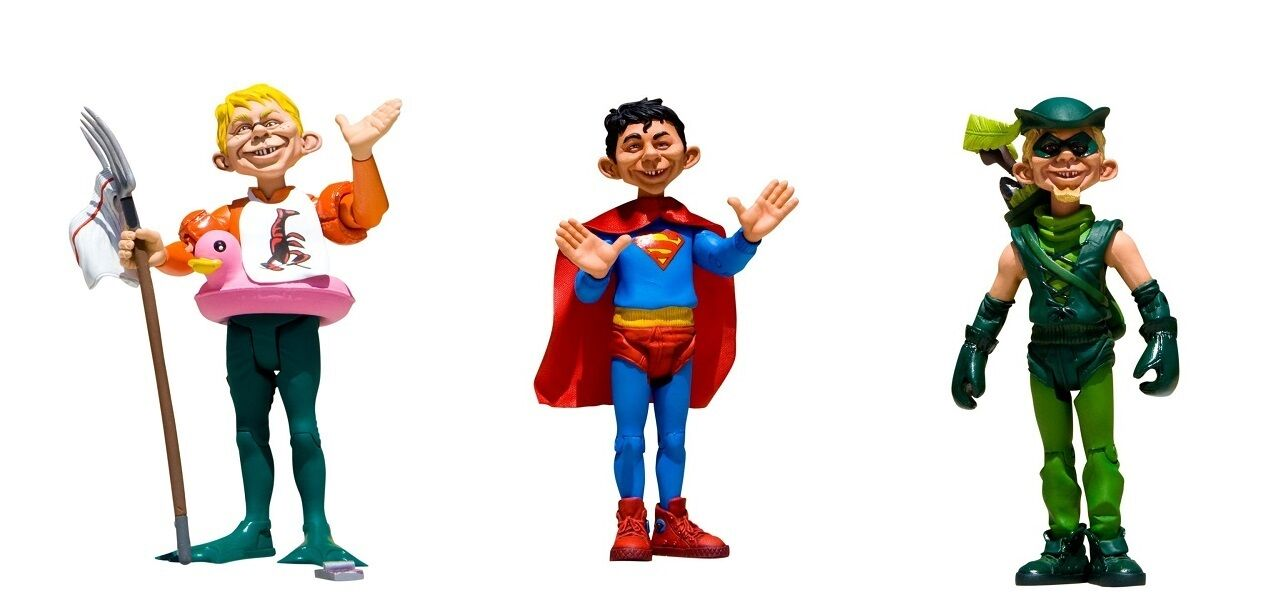 Just-Us-League Of Stupid Heroes Series 1 Set Of 3 Action Figures By DC Direct