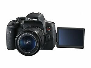 NEW Canon EOS Rebel T6i Digital SLR Camera & 18-55mm EF-S f/3.5-5.6 IS STM Lens