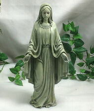 Holy Virgin Blessed Mother Mary of Jesus Garden Statue Christian Catholic Decor