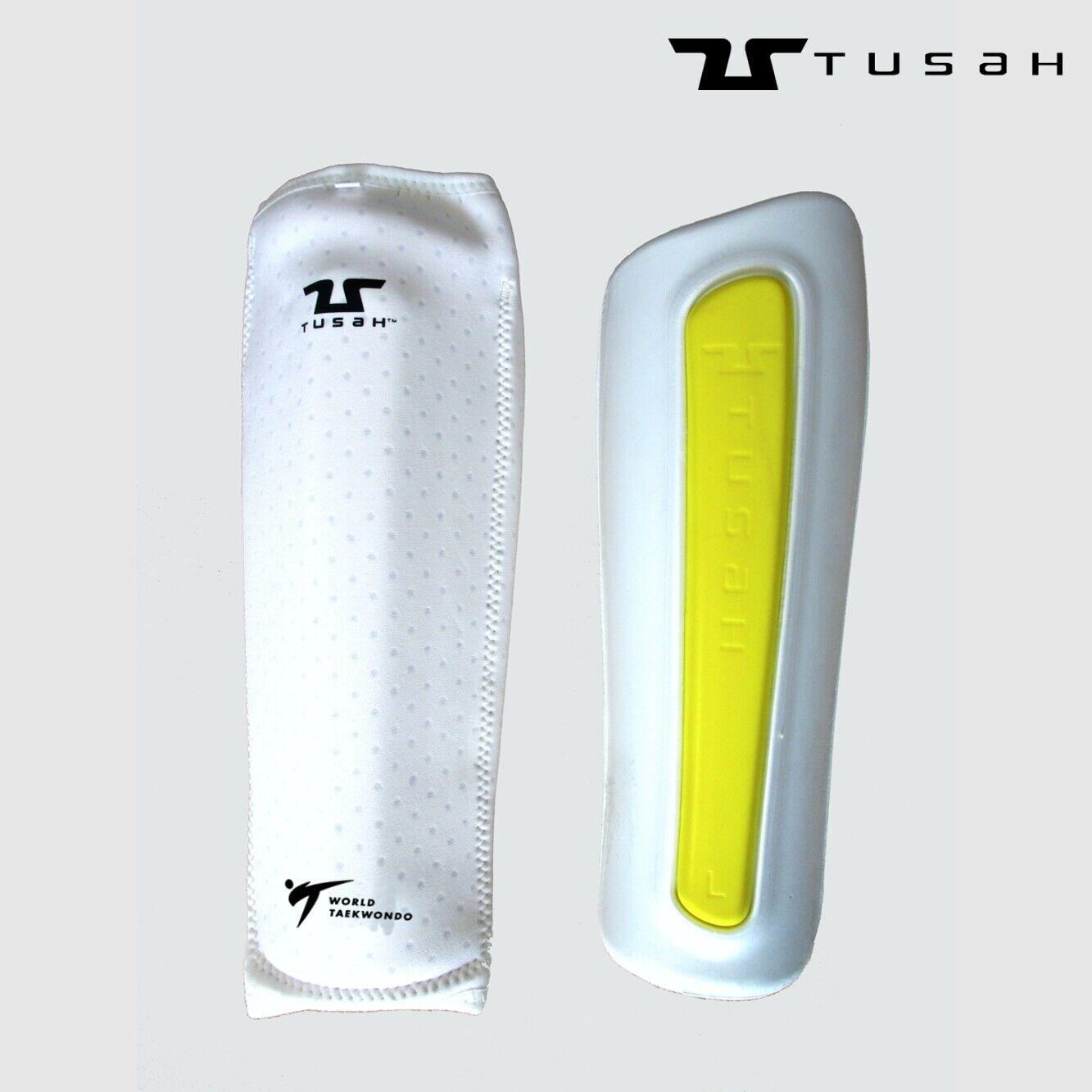 Tusah - Paratibia in Memory Foam Premium Fighter per Taekwondo Omologato WTF
