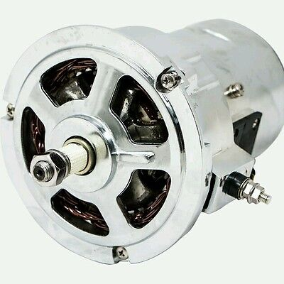 alternator Volkswagen Bug Vw Beetle Chromed 90 Amp High Output