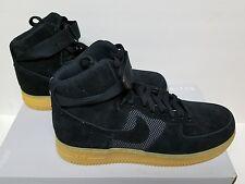Nike Air Force 1 High '07 LV8 Size 10 Black Gum Light Brown  (806403-003)
