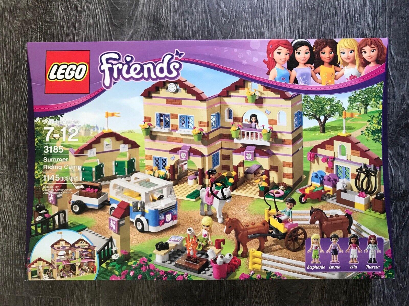 LEGO Friends Set 3185 été Riding Camp Horse  Stephanie Emma Ella Theresa  60% de réduction