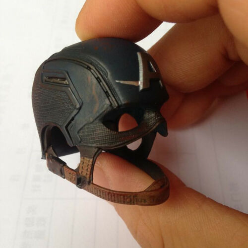 "1//6 Scale Captain America Helmet Hat Cap For 12/"" Figure Hot Toys"