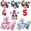 Mickey-Minnie-Mouse-Foil-Balloons-Kids-Party-Decorations-Gender-Reveal-Princess thumbnail 1