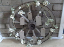 Vintage Cart Wheel  - Wedding Table plan - Decorative wedding accessory