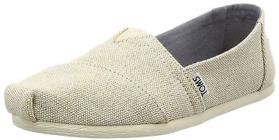unique design wholesale dealer presenting Toms Classic Natural Metallic Jute Womens Espadrilles Shoes | eBay