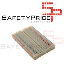 Plaque d'essai 400 points blanc pour prototypage Arduino Electronique PIC