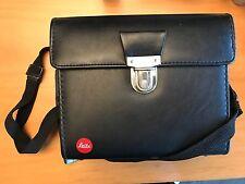 Sacoche Leica en cuir - Leica black leather Combination Case for M / Leicaflex