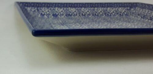Essteller T146-MAGM Bunzlauer Keramik Teller eckig 23,5x23,5cm; Kuchenteller