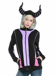 Novit Disney Cosplay Maleficent Felpa cappuccio Girls con ZSSrxwnq