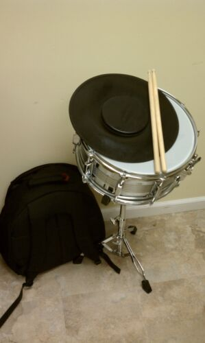 BRAND NEW DELUXE STUDENT PERCUSSION SNARE DRUM KIT!!