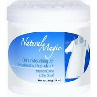 3 Pk Natural Magic Odor Absorbing Cotton Scented Gel Odor Eliminator 9063
