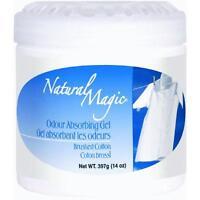 3 Pk Natural Magic Odor Absorbing Cotton Scented Gel Odor Eliminator 9063